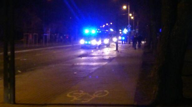 Zamieszki w Legionowie Paula / warszawa@tvn.pl