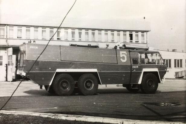Jeden z wozów, który brał udział w akcji Marek Rutecki