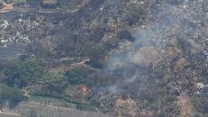 Pożar na hiszpańskiej wyspie (PAP/EPA/ELVIRA URQUIJO A.)