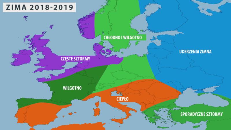 Zima w Europie według Amerykanów