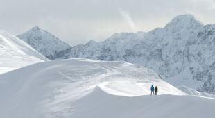 Trudne warunki w górach
