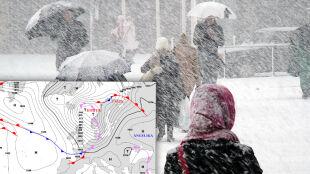 """Cyklon Dieter """"przewietrzy"""" Polskę i przykryje ją śniegiem"""
