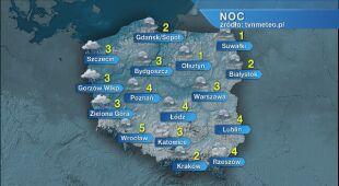 Prognoza pogody na noc 11.11/12.11