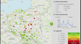 Sprawdź aktualny stan powietrza w Polsce