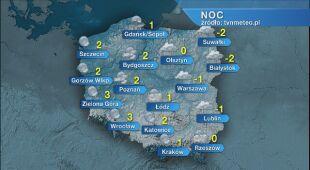 Prognoza pogody na noc 20/21.02